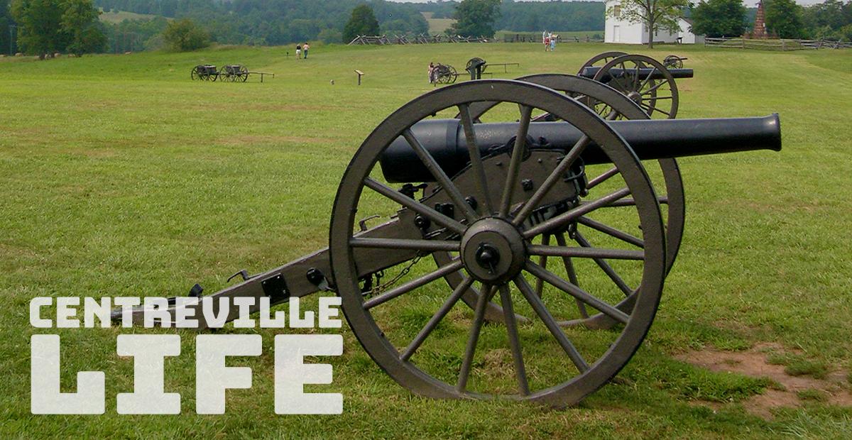 manassas battlefield cannon